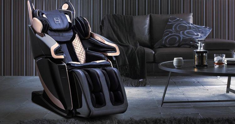 fauteuil massant dans un salon